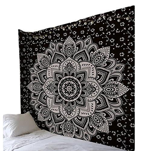 Smile YKK Couverture de Yoga Tapisserie Murale Mandala Suspendue Serviette de Plage Décoration Chambre