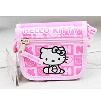 346908146 Amazon.com: Pink Hello Kitty Wallet Purse - Hello Kitty Purse Wallet: Toys  & Games