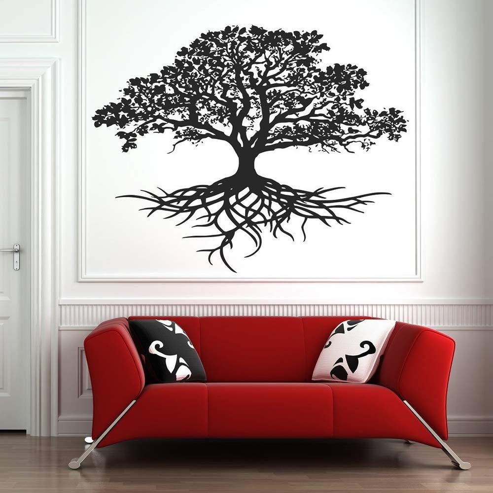 wukongsun Life Tree Wall Sticker Aplique Tribal Life Circle Root ...