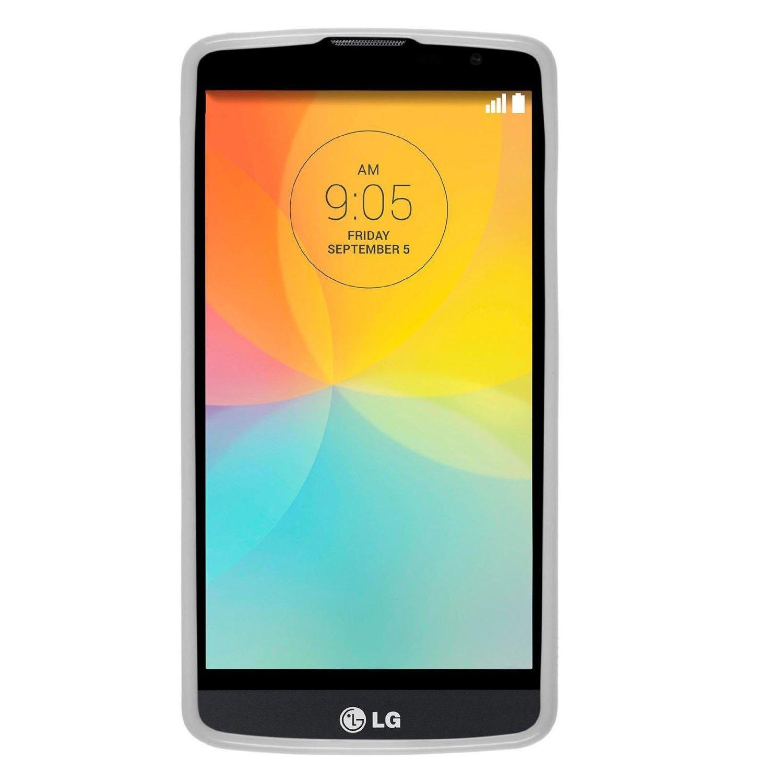 elecdorith TPU Suave Case Brushed Silicona Carcasa para LG L Bello , LG L Bello Funda , Transparente