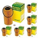 2001 bmw 740il oil filter - 6 PackMANN Oil Filter HU938/4X for BMW ALL V8/V12 Cylinder