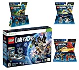 Lego Dimensions Starter Pack + Ninjago Team Pack + Jay Fun Pack + Zane Fun Packs for Xbox 360 Console