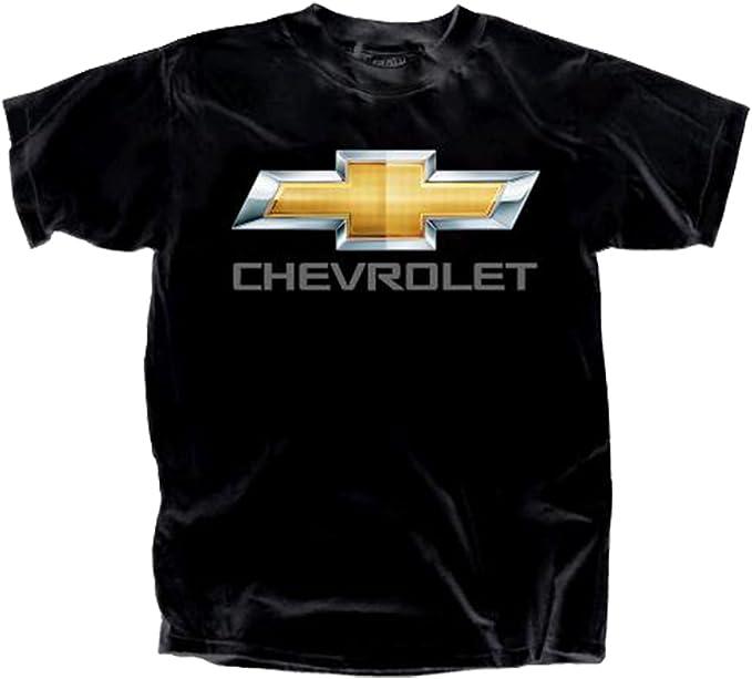 Gildan Herren Chevy Bowtie Chrome Logo T Shirt Joe Blow Amazon De Bekleidung