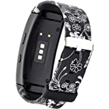 X4-TECH Band for Gear Fit2 Watch Soft Silicone Replacement Elastomer Band Plastic Wristband for Samsung Galaxy Gear Fit 2 SM-R360 Smart Watch