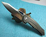 New Night Morning Design TwoSun D2 Blade Fast Open Pocket Folding Knife TS26 Review