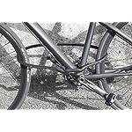 CROPS-Pro-K5-Tsurugi-Lucchetto-Antifurto-Moto-Scooter-Bici-Combinazione-110cm