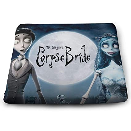 Excellent Amazon Com Tim Burtons Corpse Bride Seat Cushion Memory Pdpeps Interior Chair Design Pdpepsorg