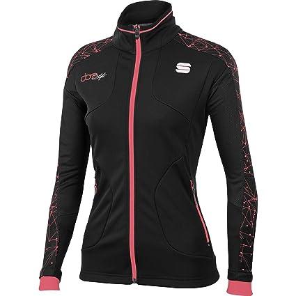 Sportful Doro - Chaqueta para Mujer, Color Negro y Coral ...