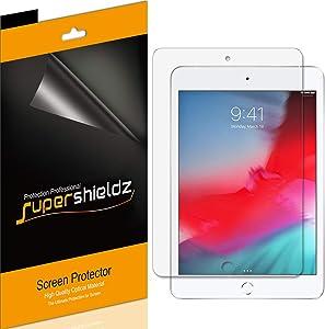 (3 Pack) Supershieldz for Apple iPad Mini 5 (2019) and iPad Mini 4 Screen Protector, Anti Glare and Anti Fingerprint (Matte) Shield