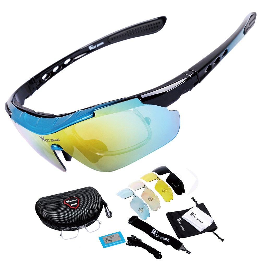 Gafas de sol West Biking para el ciclismo o correr ...
