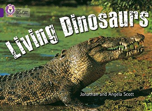 Dinosaur Photograph - Living Dinosaurs: Band 08/Purple (Collins Big Cat)