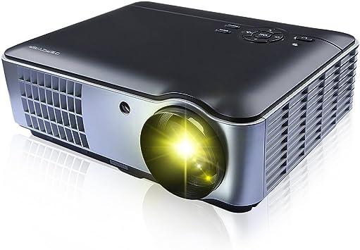 RD-806 cine en casa cine Android proyector con lámpara LED apoyo ...