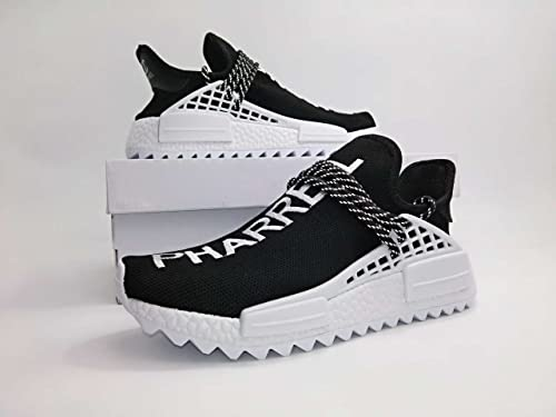 buy online ca2b1 bf7c4 Adidas -Unisex X Pharrell Chanel ,NMD, 2018 Black-White ...