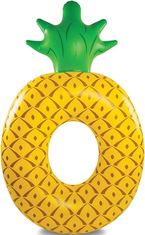 BigMouth Inc.- Flotador de piña Gigante Hinchable, para Playa y Piscina