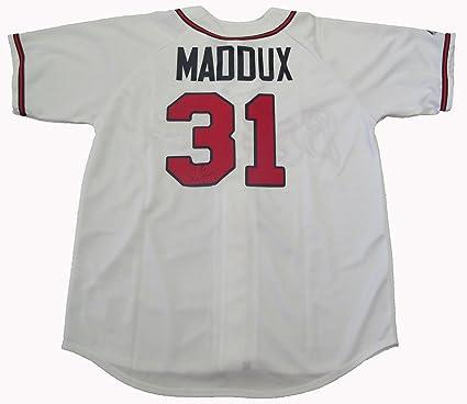 on sale 6a8b2 92b46 Greg Maddux Autographed Atlanta Braves Jersey W/PROOF ...