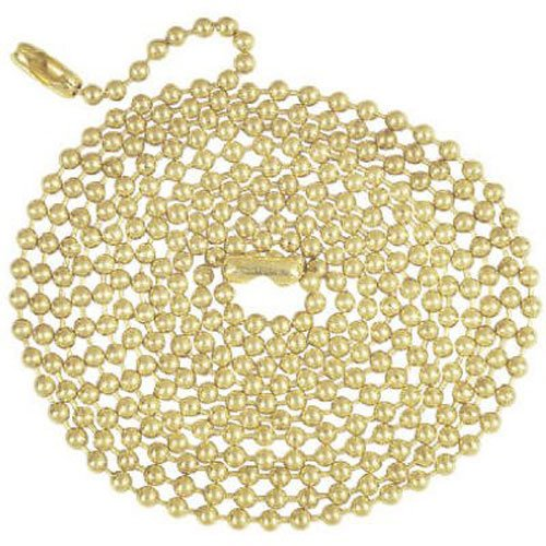 Westinghouse Lighting 7016800 Brass Finish Beaded Chain