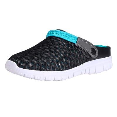 YJYdada Unisex Summer Beach Sneaker Slipper Sandals Breathable Mesh Slip On Shoes for Women Men
