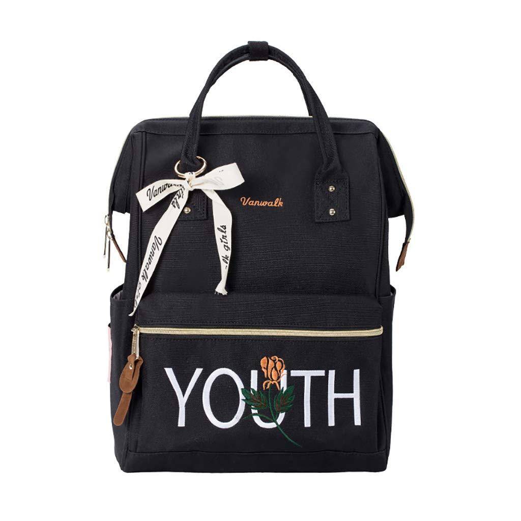 アルパインパック バックパックハンドバッグ旅行バックパック文学芸術新鮮な学生バッグ3色28 * 19 * 38センチメートル (色 : C)  C B07LGL4H7G