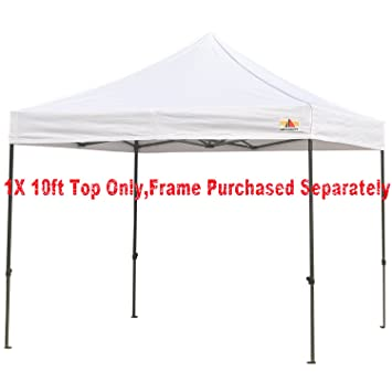 ABCCANOPY Deluxe replacement canopy top/roof for 10x10 ft Ez Pop Up ...