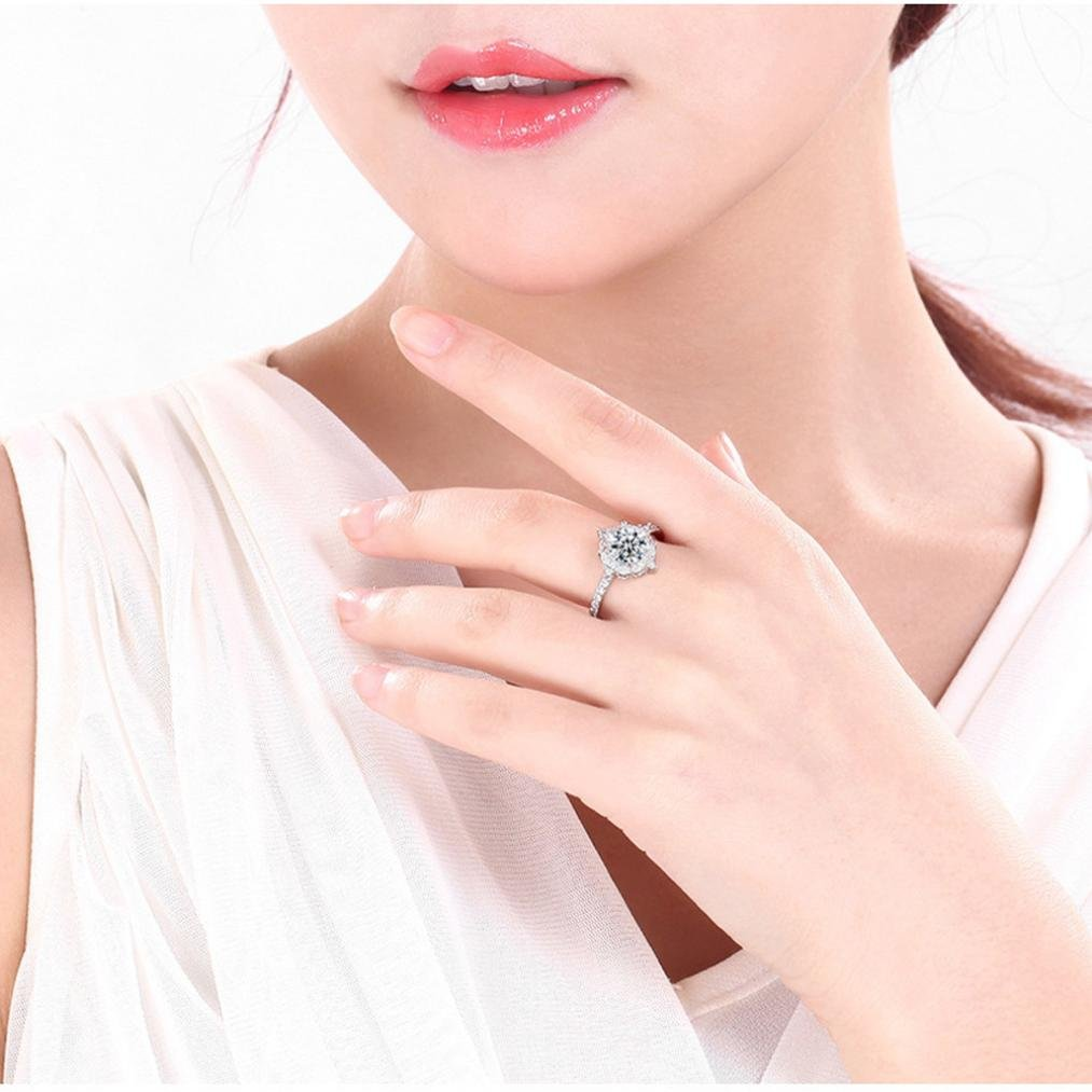 Woman\'S Silver Ring,Beauty Top Natural Big Gemstone Ring Jewelry ...