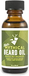 Rhett's Beard Oil - All natural - Scent of sandalwood, citrus, and rosemary - 1 fl oz bottle - Created by YouTube celebrities Rhett and Link from Good Mythical Morning