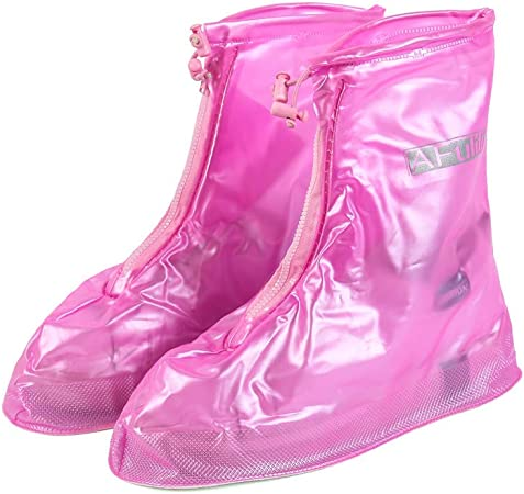 Overshoes Snow Protective Guard Resistant for Men Women Girls Boys XXL Rainproof Waterproof Reusable Transparent Rain Shoes Cover Shoes Cover