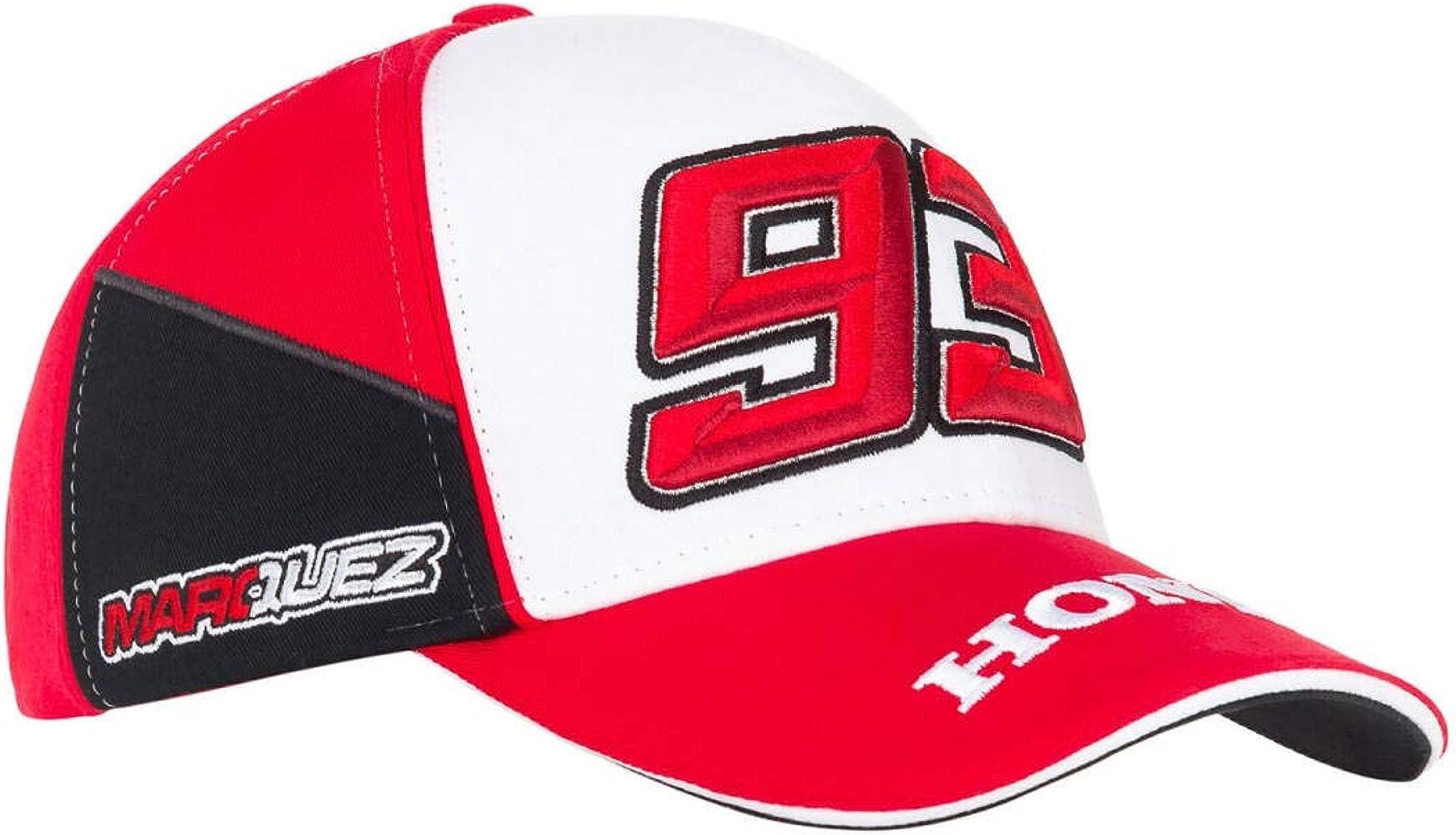 HRC Racing Gorra de béisbol Doble Honda Marquez: Amazon.es: Ropa y ...
