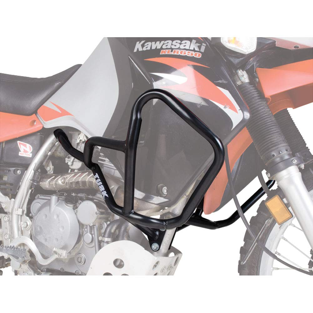 Tusk Crash Bars - Engine Guards Black - Fits: Kawasaki KLR650 2008-2017