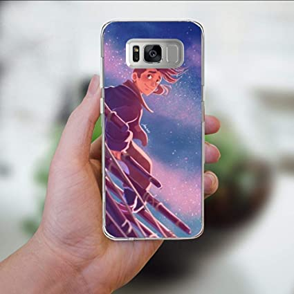 Amazoncom Silicone Clear Case For Samsung Galaxy S8