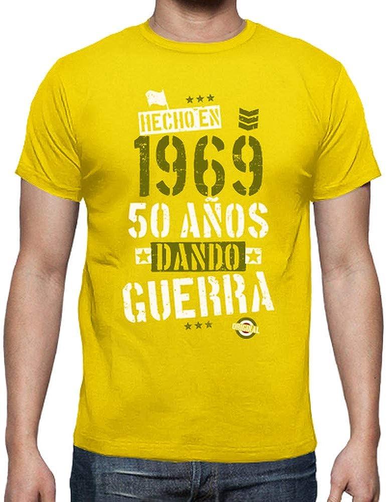 latostadora - Camiseta 1969 50 Anos para Hombre: hello: Amazon.es: Ropa y accesorios