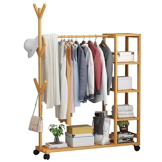 Amazon.com: COAT RACK Feifei - Perchero de bambú ...