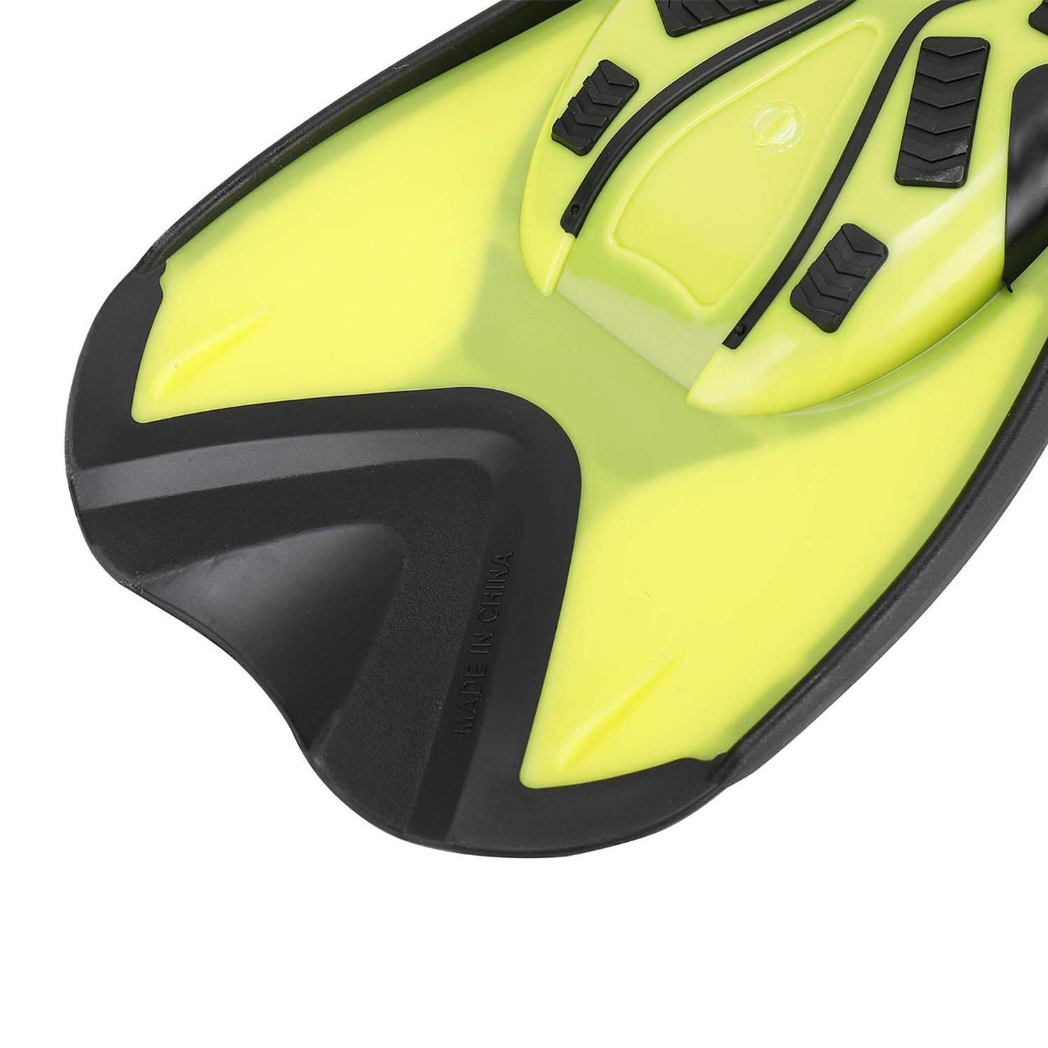NovelBee Flippers Short Blade Floating Swimming Fins for Surfing Swimming Diving Snorkeling Watersports