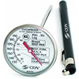 CDN IRM190 ProAccurate Insta Read Large Dial Meat & Poultry Cooking Thermometer-NSF Certified