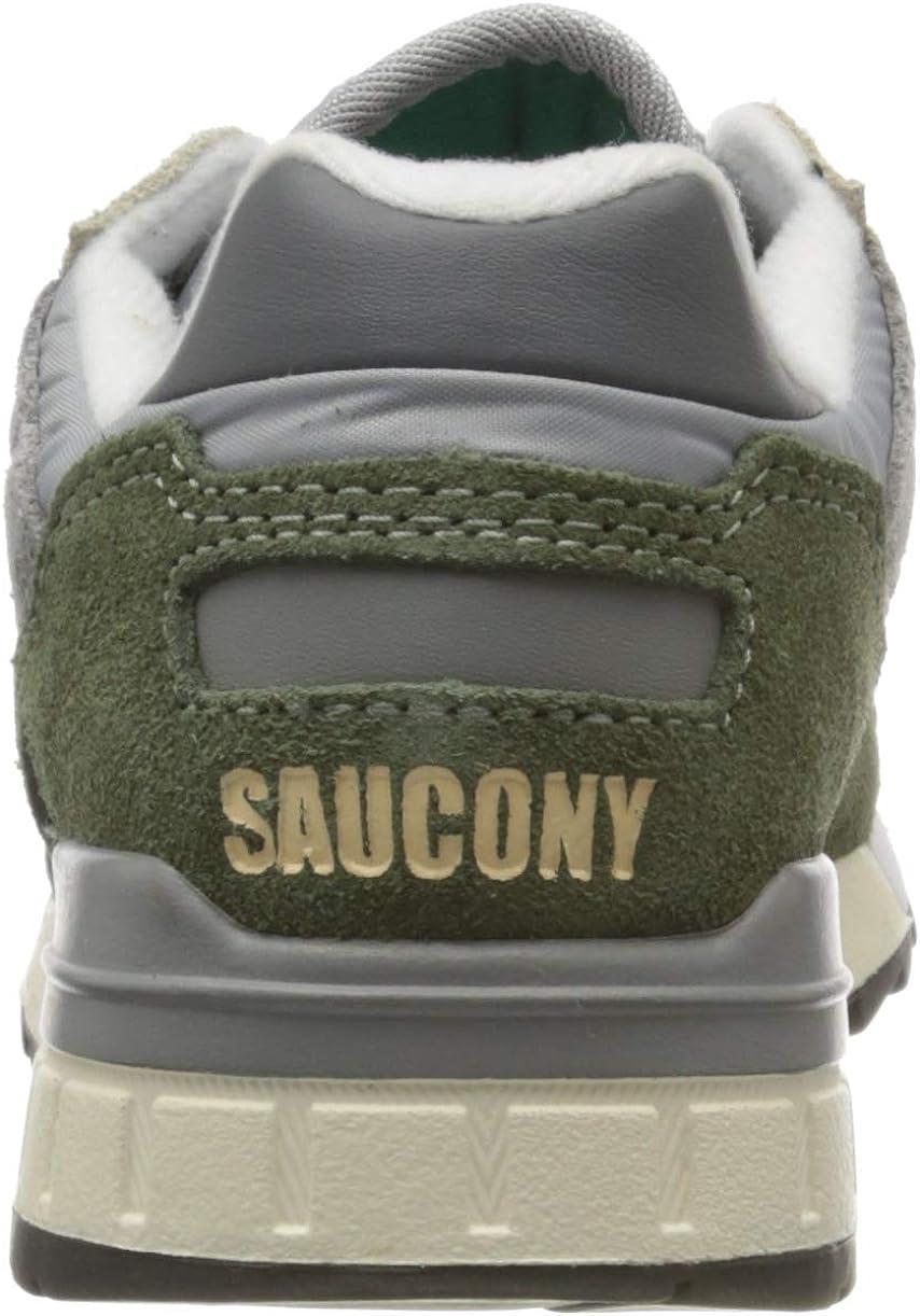 Saucony Shadow 5000 Vintage, Chaussures de Cross Homme Vert Grey Green 13