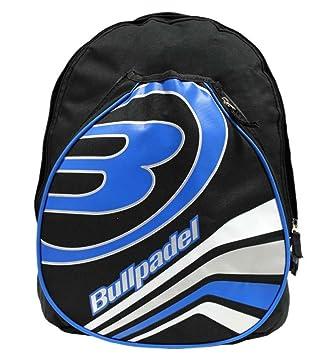 Bull padel 0517542 - Mochila de pádel, Color Negro/Azul