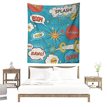 Amazon.com: Meikxf Superhero Decorative Tapestry Pop Art ...