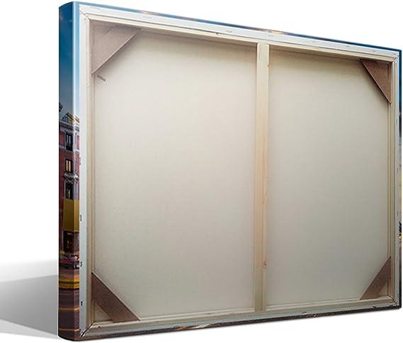 cuadro canvas Calle de Alcalá de Madrid - 75cm x 55cm - Fabricado ...