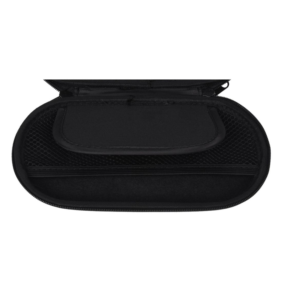 Cikuso Funda de Caja EVA Negro con Mosqueton para PSVITA Consola de Videojuegos