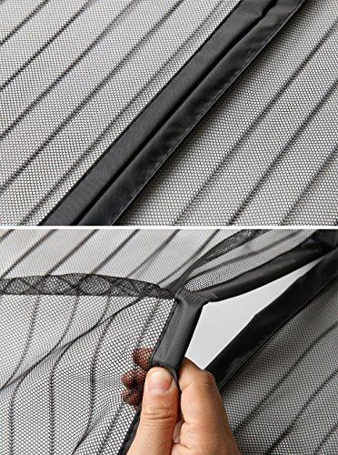 61zQVXQaiIL Anpro Fliegengitter Tür Moskitonetz Tür 90 x 212CM, Insektenschutz Magnet Vorhang Fliegenvorhang für Balkontür…