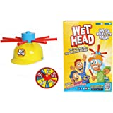 Babrit Wet Head Game Wet Hat Water Challenge Toys Roulette Game For Family Fun