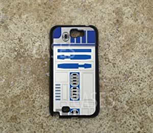Galaxy Note 2 Case Cover, Coolest R2D2 Starwars Unique Top Cases for Samsung Note