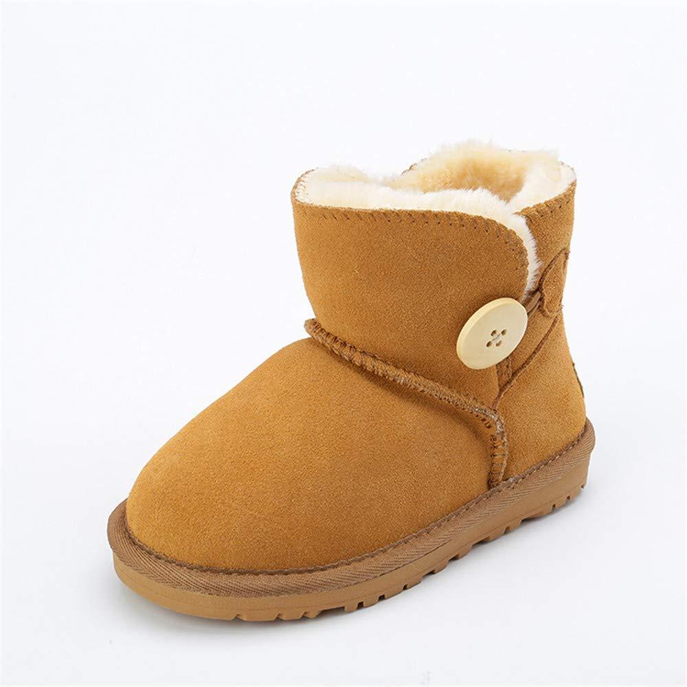 BeautyOriginal Winter Baby Girl Cute Leather Outwear Waterproof Warm Boot Shoes