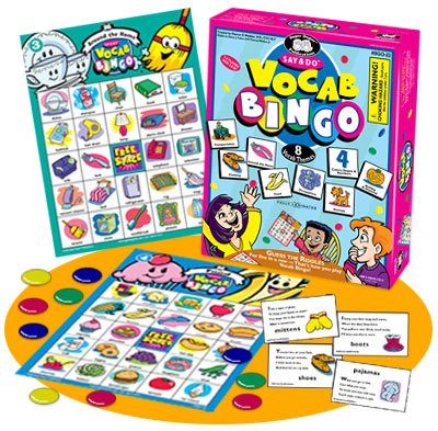 Super Duper Publications Say & Do Vocabulary Bingo Game Educational Learning Resource for Children