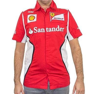 Para hombre Puma rojo SF Ferrari camiseta: Amazon.es: Ropa y ...