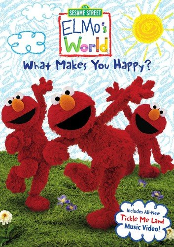 Sesame Street Elmos World: What Makes You Happy? Kevin Clash Caroll Spinney Matt Vogel Jim Martin
