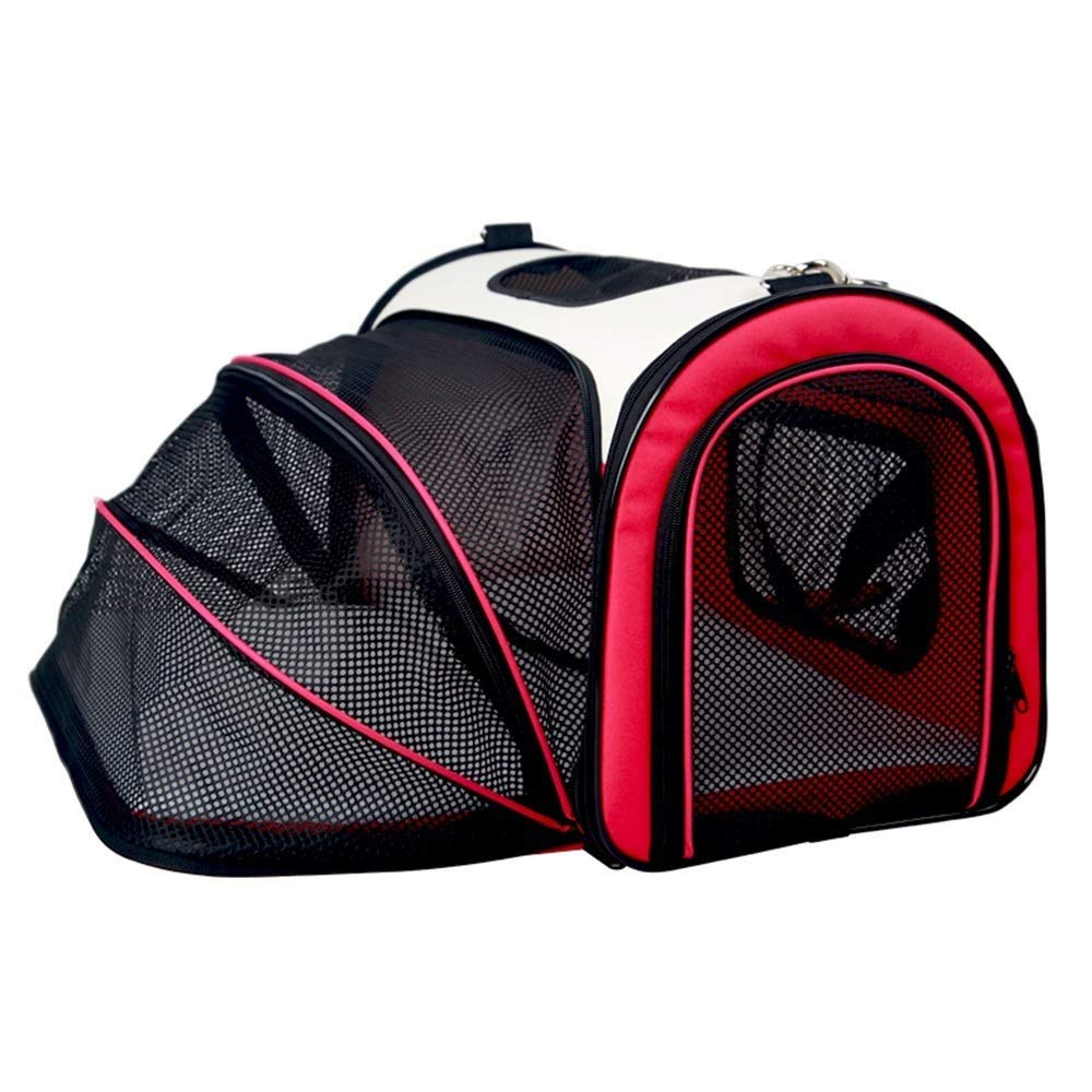 IRVING Pet Carrier for Small Dogs, Cats, Puppies, Kittens, Animali domestici, Collapsible, Travel Friendly, Cozy and Soft Dog Bed, Carry Your Pet Safely and Comfortably (Colore: C, Dimensione: S)