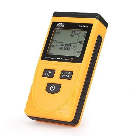 GM3120 Digital LCD Detector Electromagnético de Radiación Herramienta de Dosímetro de Medidor EMF Portátil para Computadora