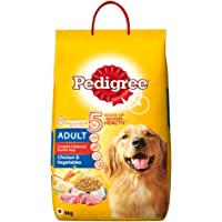 Pedigree Dry Dog Food, Chicken & Vegetables for Adult Dogs – 6 kg Pack