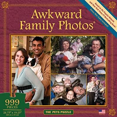 Awkward Family Photos Pets Puzzle: Toys & Games