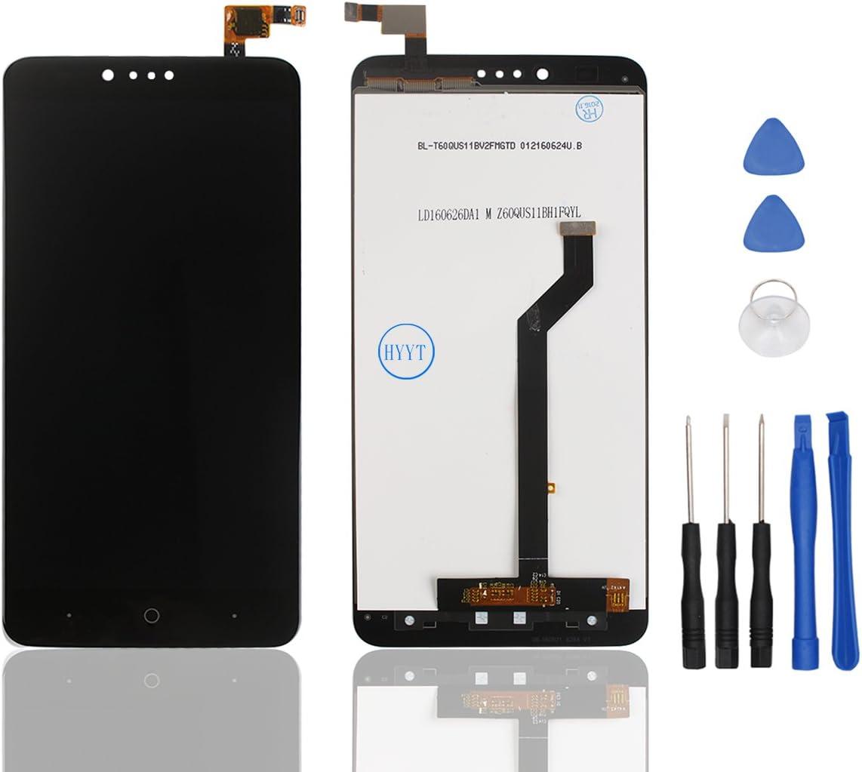 hyyt LCD Display + pantalla táctil digitalizador para ZTE ZMAX Pro/Z981 libre de con herramientas (Negro): Amazon.es: Electrónica